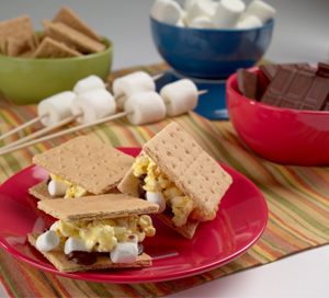 popcorn s'mores