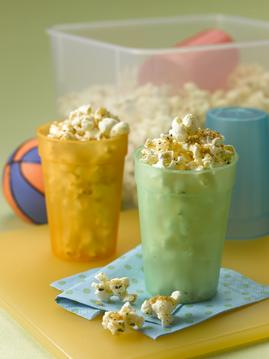 Grab and Go Pizza Popcorn