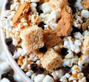 Popcorn S'mores Mix In's
