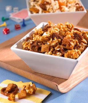 Sweet and Salty Popcorn Party Mix