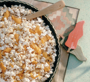 Spicy Nacho Cheese Popcorn