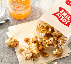 World's Fair Butterscotch Glazed Popcorn Crunch
