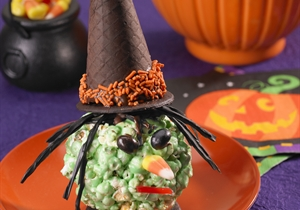Witchy Popcorn Balls