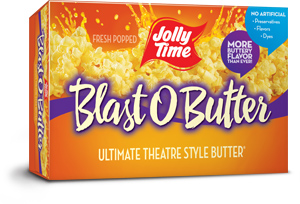 Jolly Time Blast O Butter Microwave Popcorn Best Movie Theatre Style Popcorn Flavor