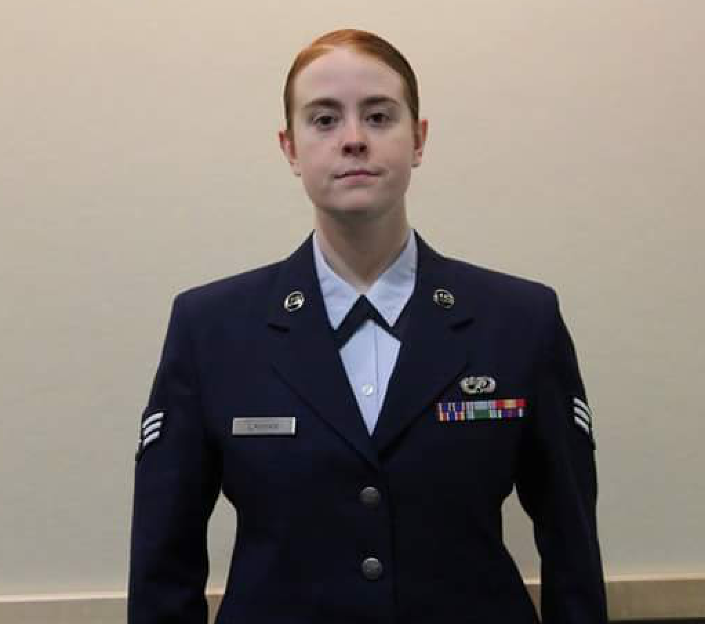Photo of Cheyenne Lanham, US Air Force