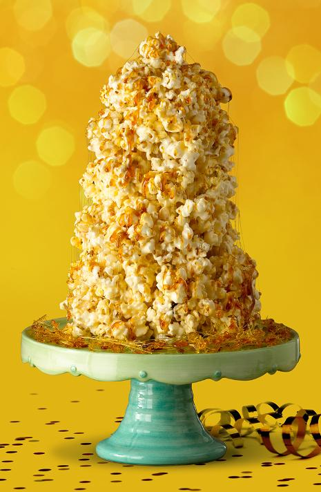 Jolly Time Popcorn Ball Crunch Cake Celebrate Our 100th Birthday